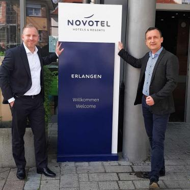 Stephan Radtke leitet künftig das Novotel Erlangen