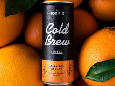 J.J.Darboven launcht J.Hornig Cold Brew Sparkling Orange