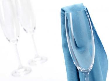 Mikrofaser Polier- & Geschirrtücher sowie Gläsertücher für Küche und Gastronomie