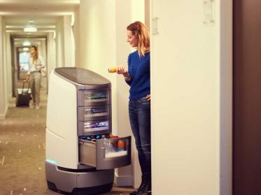 Jeeves Robotise-Serviceroboter für hohe Designqualität ausgezeichnet