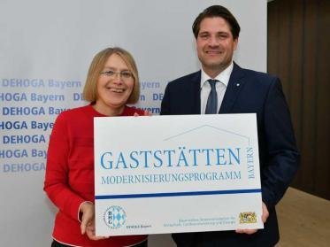 Gaststättenmodernisierungsprogramm Bayern startet heute