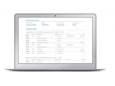 Neue Automatisierung für Event-Ablaufpläne und Function Sheets