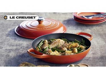 Bräter & Pfanne = Gourmet-Profitopf Signature von Le Creuset