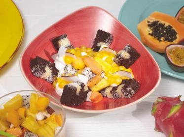 Karibik Cake Bowl: Sommer aus der Schüssel