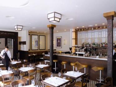 Thomas Pincon wünscht künftig im Cafe des Artistes bon appetit
