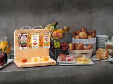 Buffetspender SquEasy sorgt für Honig-Vielfalt