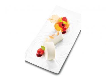 Dessertklassiker Pfirsich Melba a la Debic
