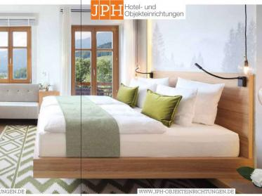 Neuen Möbel Katalog anfordern von JPH  Hotel- und Objekteinrichtungen!
