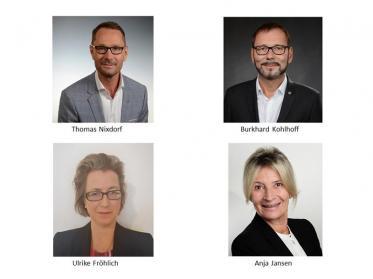 IntercityHotel begrüßt vier neue General Manager