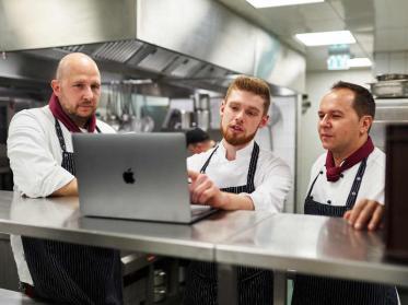 Digitalisierung in der Küche