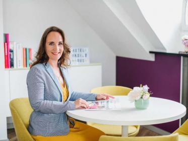 Hoteldirektorin Katja Schnabel 20 Jahre Hip und modern im Hotel Indigo Düsseldorf