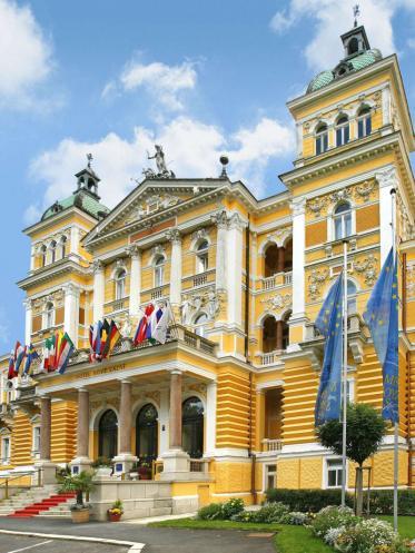 Das Nové Lázne Hotel in Marienbad für renommierte Kurprogramme
