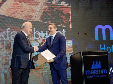 Erstes 5-Sterne-Hotel Albaniens: das Maritim Hotel Plaza Tirana ist eröffnet