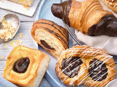 Schokoladen-Cremepulver zur Herstellung backfester Schokoladencremefüllungen