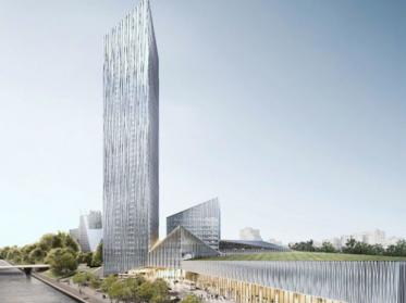 Estrel Tower Baubeginn Herbst 2020