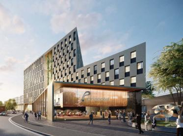 prizeotel eröffnet in Bochum 2022 den Gebäudekomplex Be.cause