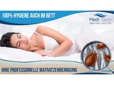 Matratzen reinigen lassen: Kosten sind wesentlich geringer als Schäden durch Milben!