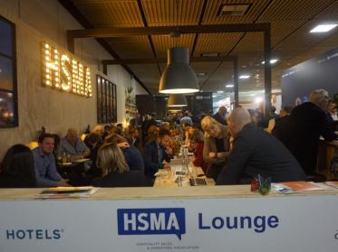 HSMA Networking Lounge auf über 120 Quadratmetern