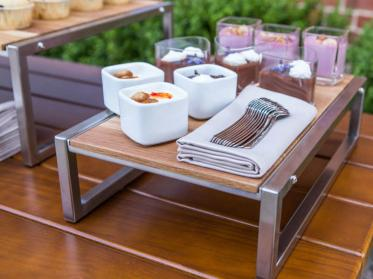 Outdoor-Buffet Vintage von VEGA