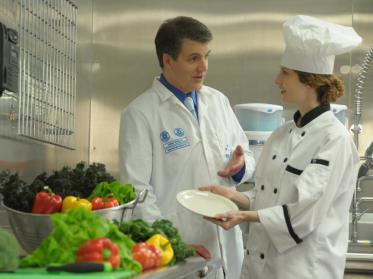 Gewerbliche Küche in puncto Hygiene und Sauberkeit