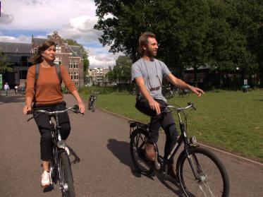 Fahrrad-Arrangement im Amsterdam Tropen Hotel