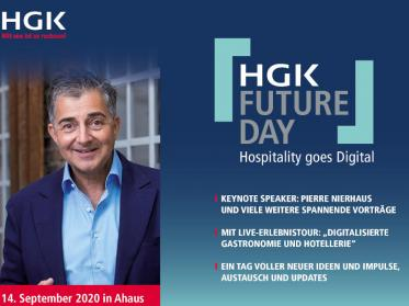 Hospitality goes digital: HGK veranstaltet HGK-Future Day