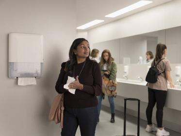 Hygiene Studie zum Lufthandtrockner in Waschräumen