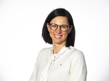 Direktorin Daniela Berger vom Achat Dresden Altstadt feiert Jubiläum