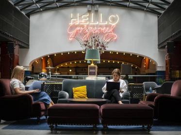 Coworking-Konzept der Scandic Hotels