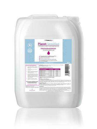 Planet Sensitive by TREOX für eine sauberere und effiziente Desinfektion