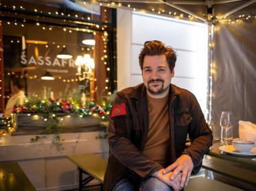 Sassafras-Bar in Düsseldorf setzt auf AEG-Infrarot-Heizstrahler