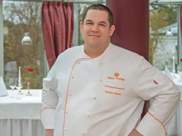 Christian Somann überzeugt im Restaurant Belvedere