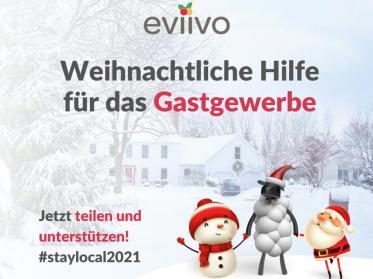 eviivo-Weihnachtsinitiative für das Gastgewerbe