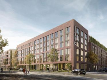 Aparthotel Adagio Stuttgart Neckarpark für 2024 geplant