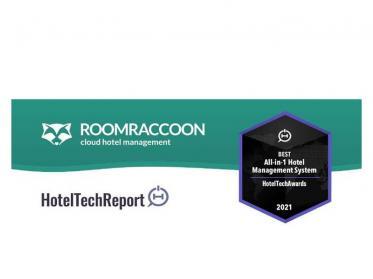 RoomRaccoon gewinnt Award für das beste Hotel Management System