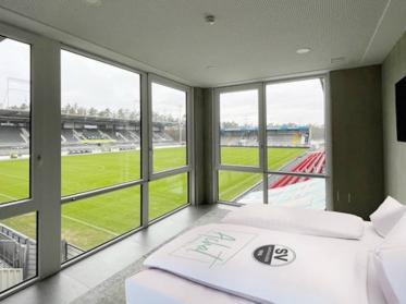 Achat-Zimmer in der VIP-Lounge des SV Sandhausen