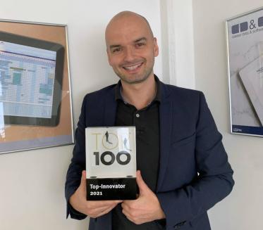 Die SoftTec GmbH ist Top-Innovator 2021 & erhält das TOP 100 Siegel