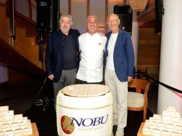 Robert de Niro kommt mit Nobu Hotel Elbtower nach Hamburg