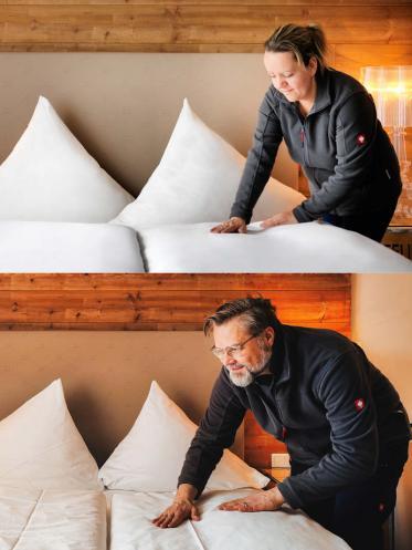 HotelchefCarsten Webervom Donners Cuxhaven als Zimmermädchen