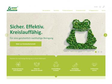 Neue Webseite green care Professional