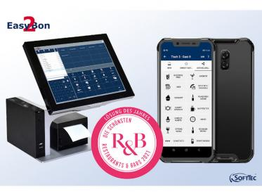 Easy2Bon Kassensystem mit dem R&B Designaward ausgezeichnet