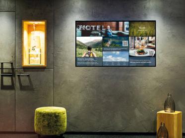 Digital Signage hält Einzug in Hotels