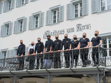 Hotel Kreuz Sachseln ist wieder am Start