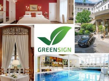 Der Europäische Hof Heidelberg erhält GreenSign Level 4