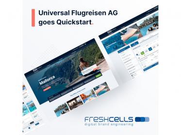 Universal Flugreisen AG startet Partnerschaft mit freshcells systems engineering