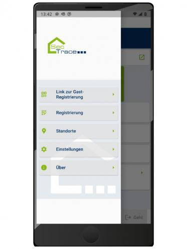 SecTrace - digitale, datenschutzkonforme Kontaktnachverfolgung