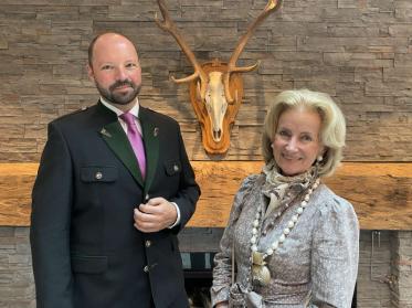 Anton Gustav Birnbaum eröffnet Astoria Resort Seefeld