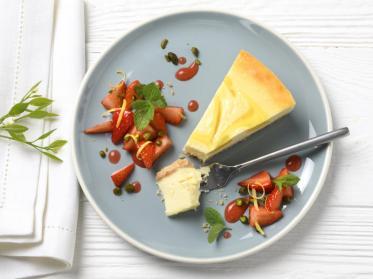 Sommerrezept mit Zitronen-Cheesecake