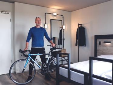 Bike Plus kostet 5 Euro pro Übernachtung im Zimmer