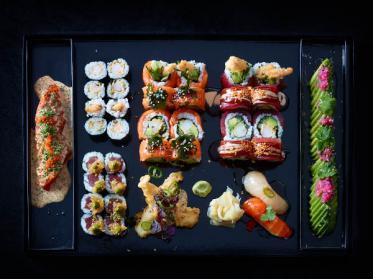 GO by Steffen Henssler liefert Premium Sushi goes East